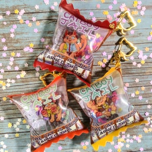 Catboy Jail Candy Bag Charms!