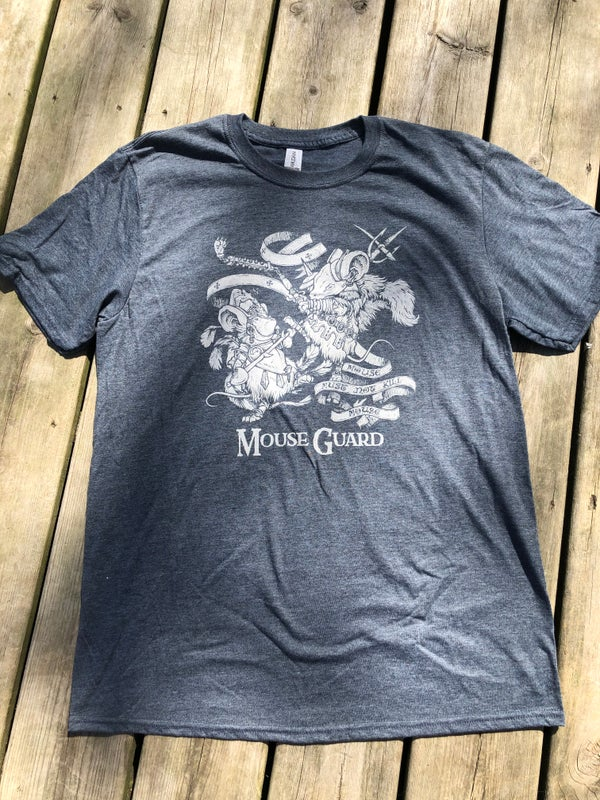 Image of Mouse Guard 'Mouse Must Not Kill Mouse' Tee