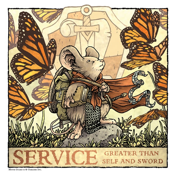 Image of Service Print