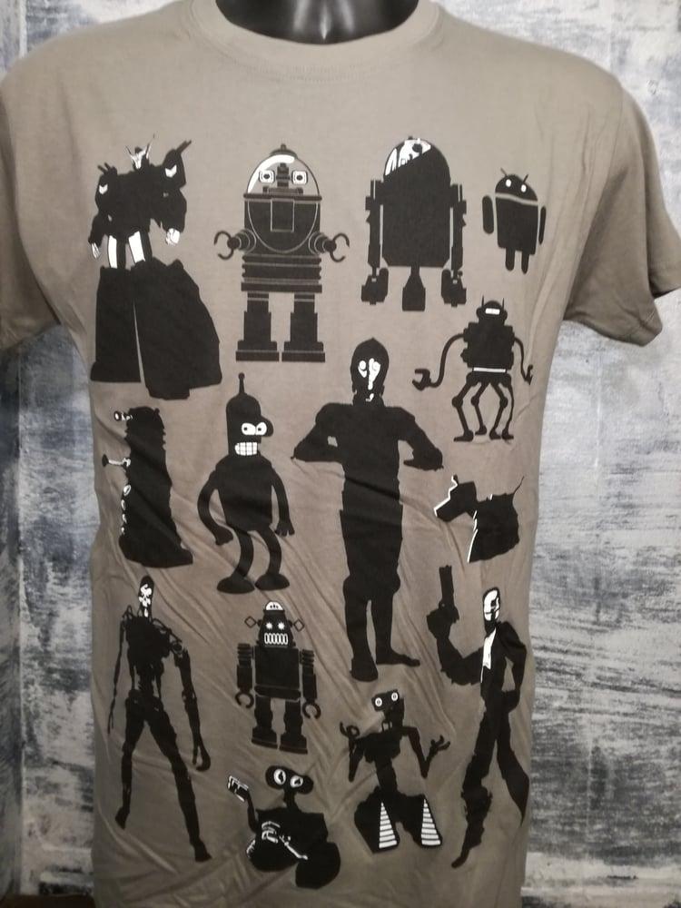 Image of Robots mens t shirt