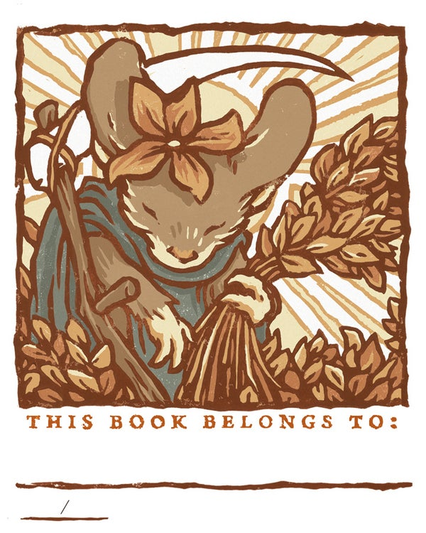 Image of Mouse Guard 2021 Bookplate