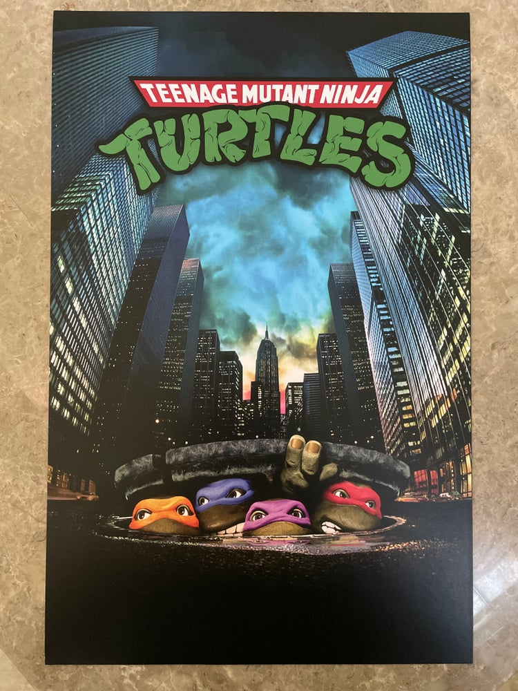 Image of Movie Sewer Print