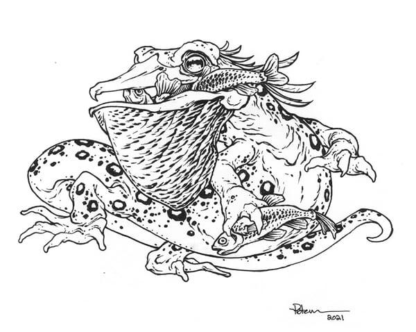 Image of Salamalican Original Art