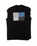 """RZN by RB """"Shaded Grace"""" ribbed track vest"""