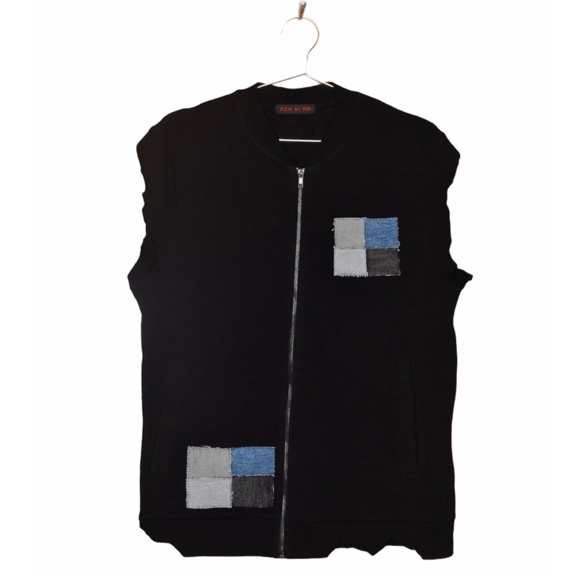 """Image of RZN by RB """"Shaded Grace"""" ribbed track vest"""