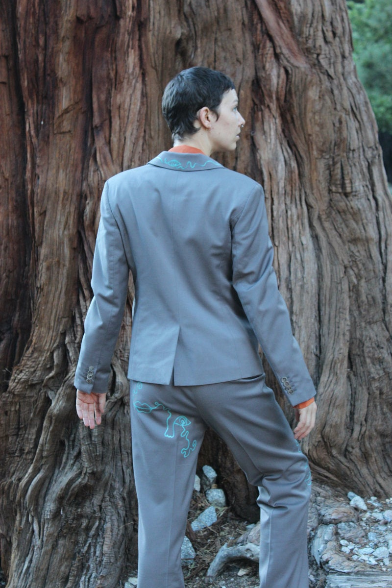 Image of Two Piece Doodle Suit