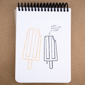 Popsicle Rubber Stamp (NEW Smaller Size)