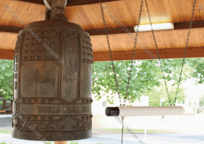 Image of T37 World Peace Bell Cowra - NEW!