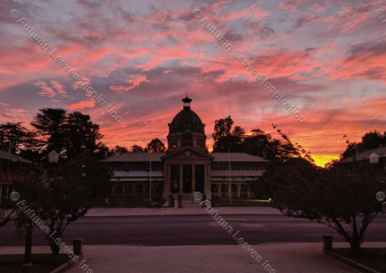 Image of T38 Sunset Courthouse Bathurst - NEW!