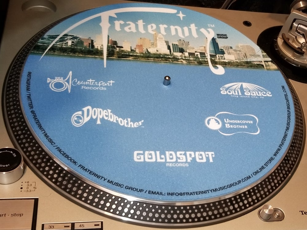 Image of Fraternity 12 Inch Slipmat Pair
