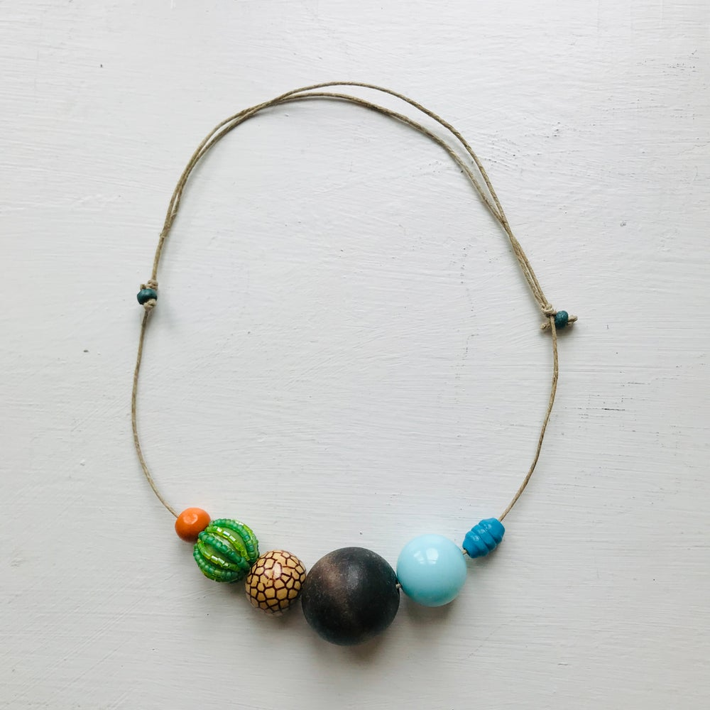 Image of Odd Bead Necklace