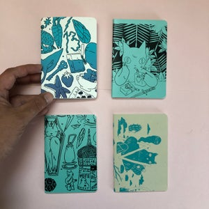 Image of Blank Book Set of 4