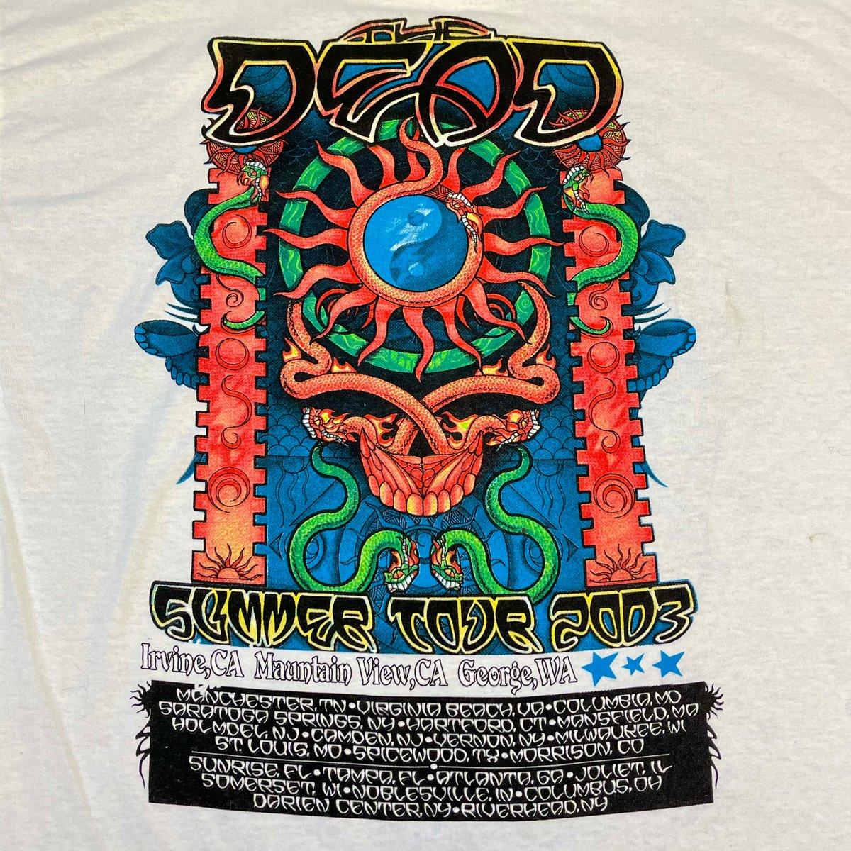 """Original Summer Tour """"The Dead"""" 2003 Tee!! XL!"""