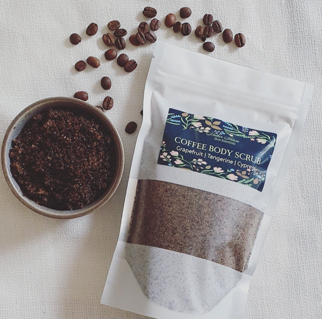 Image of COFFEE BODY SCRUB 300g | Grapefruit Tangerine & Cypress