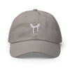 derFmania | Champion Grey  Dad Hat