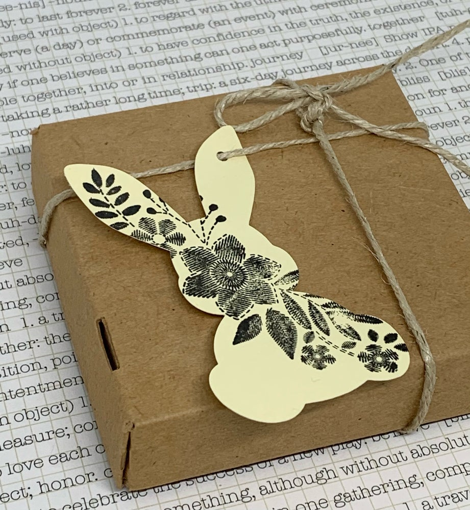 Image of bunny gift tags