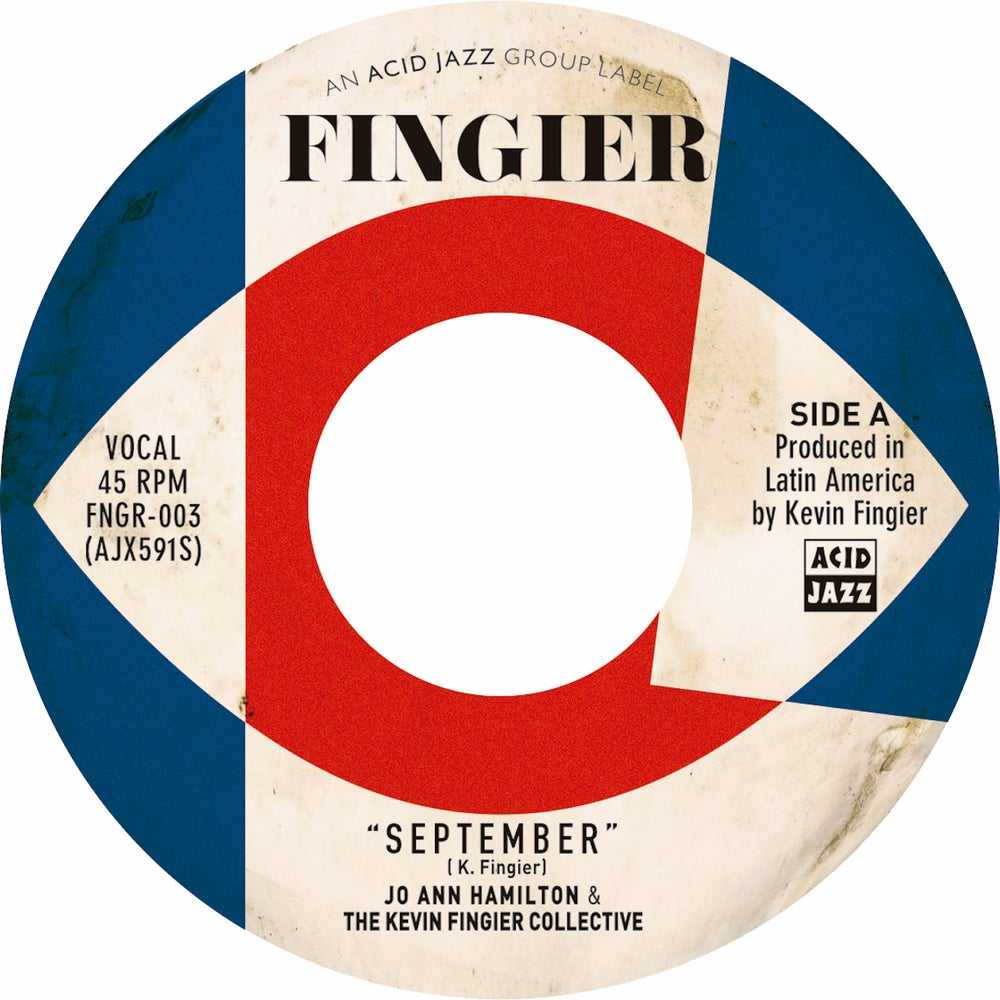 """Image of Jo Ann Hamilton & The Kevin Fingier Collective - September / I Love Without A Love  7"""" (Pre-Order)"""