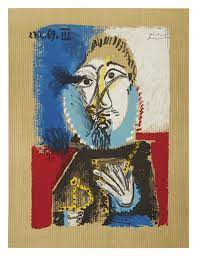 Image of (after) pablo picasso / imaginary portraits (blue beard) / 23/097