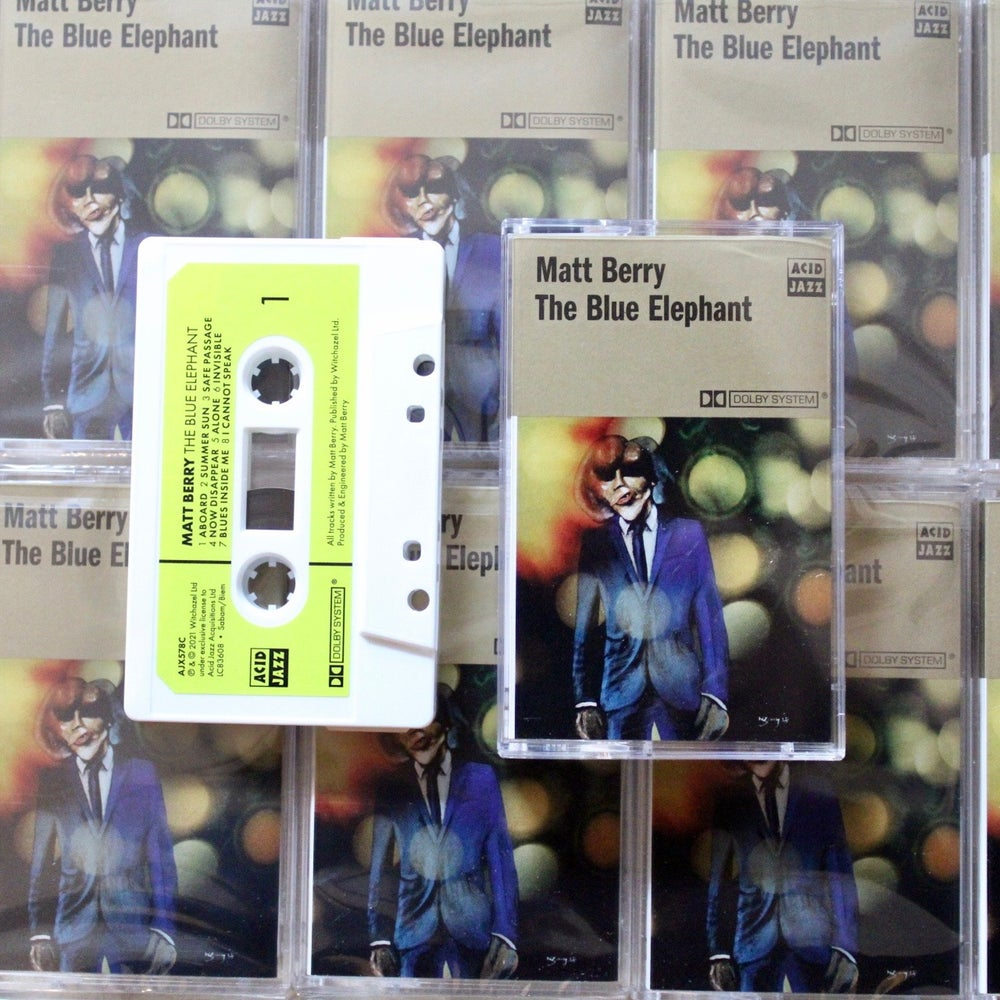 Image of Matt Berry 'The Blue Elephant' - Limited Edition Cassette (Pre-Order)