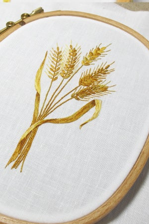 """Image of Wooden Embroidery Hoop, Sq-Round 7 x 5.5"""""""