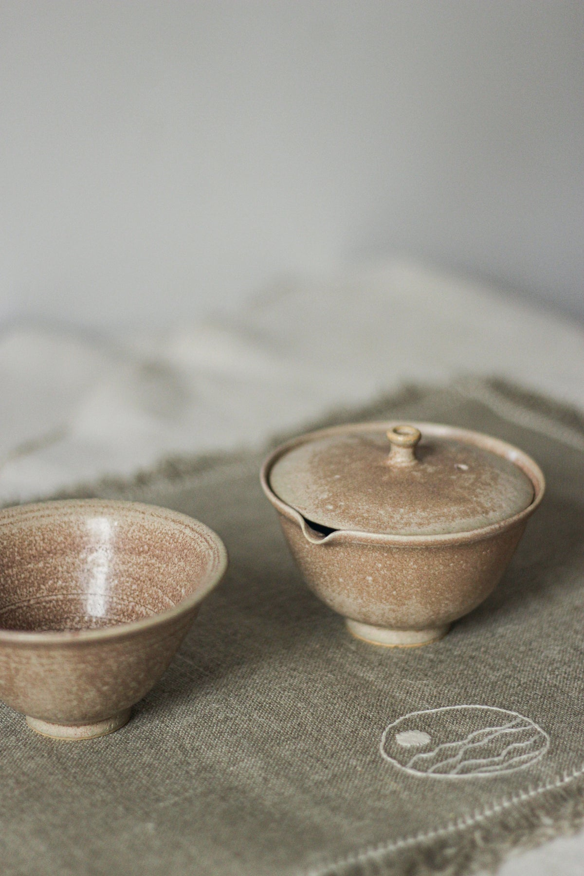 Image of tea set | shiboridashi + cup