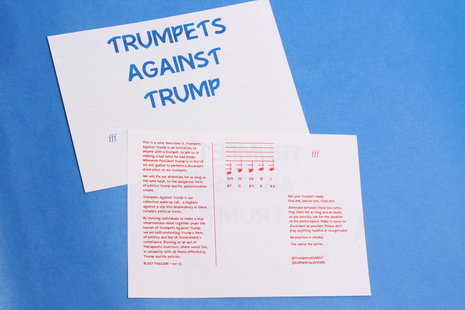Trumpets Against Trump Performance Score