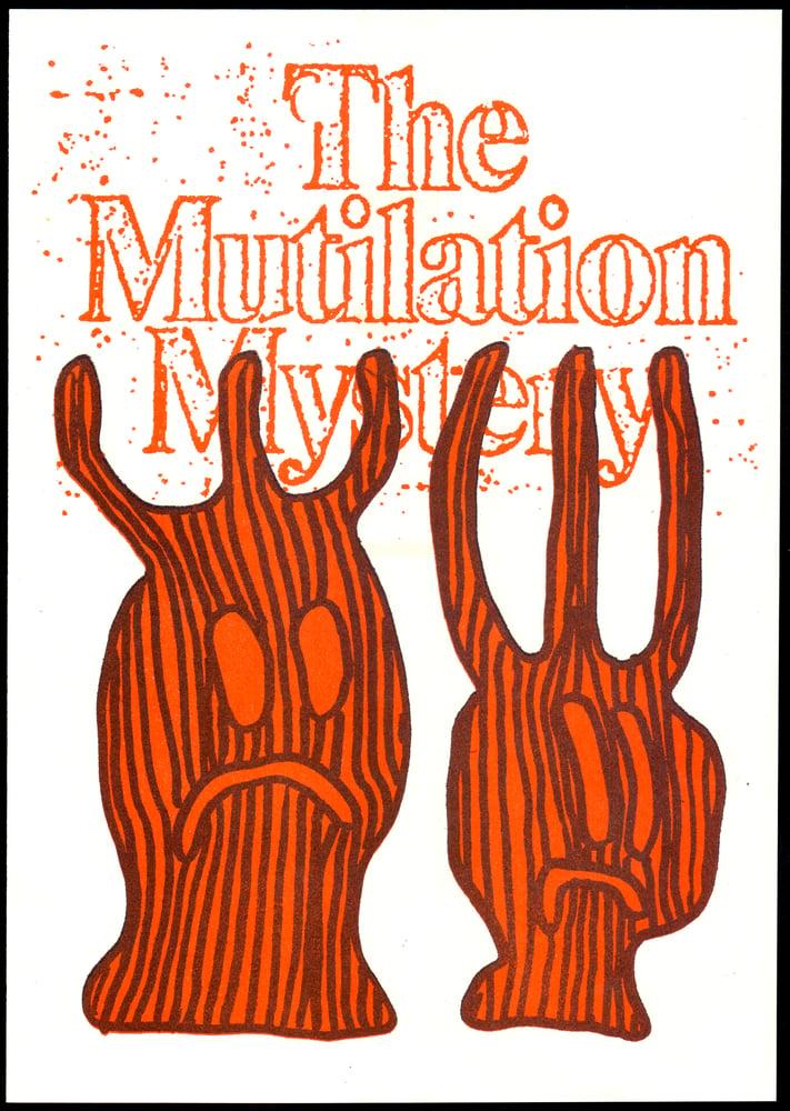 Image of MUTILATION MYSTERY — Sam Barrett Collaboration / Risograph Print