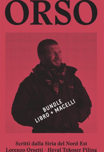 Image of BUNDLE - libro ORSO + fumetto MACELLI di Zerocalcare