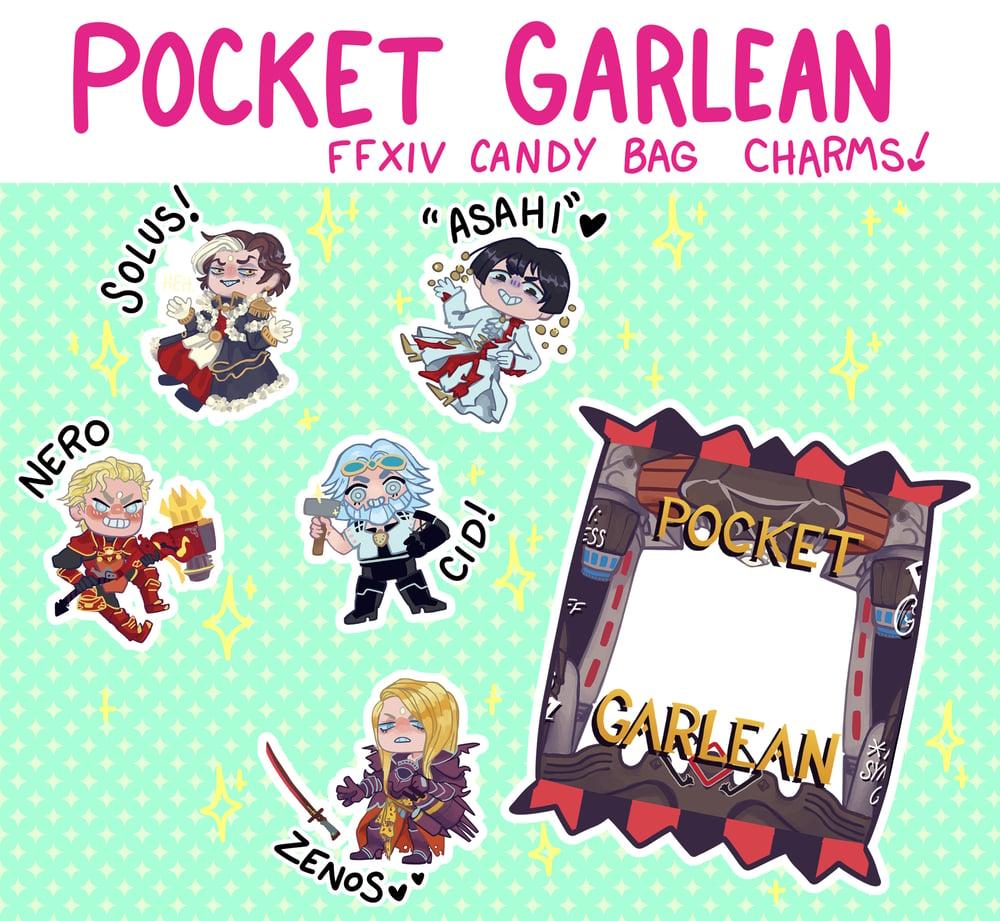 FFXIV Garlean Candy Bag Charms!