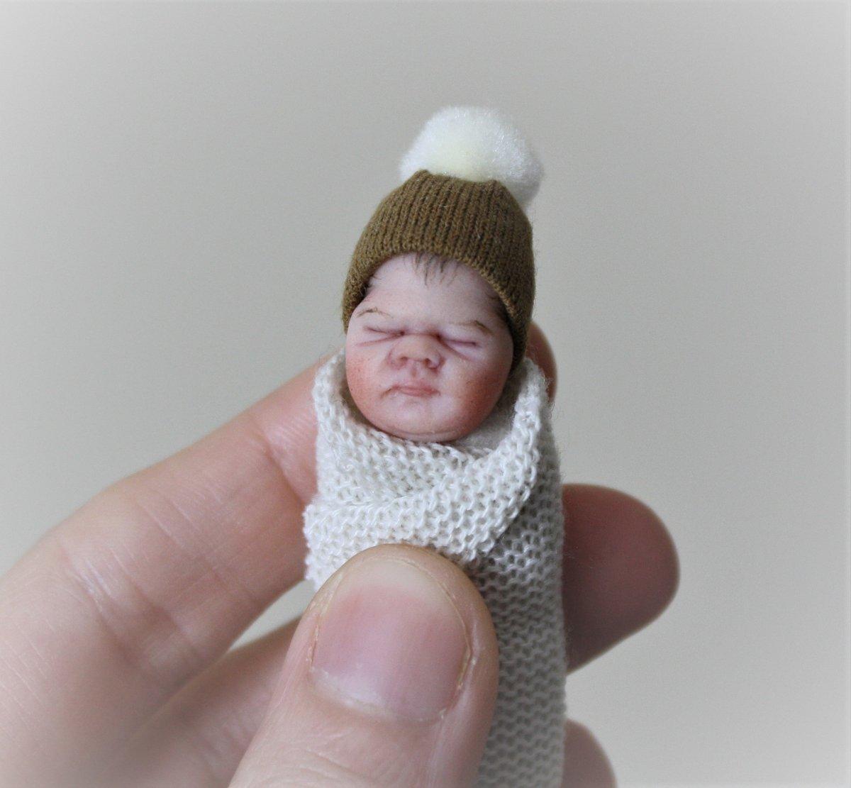 Image of #3.  OOAK Miniature Bundle Baby Boy