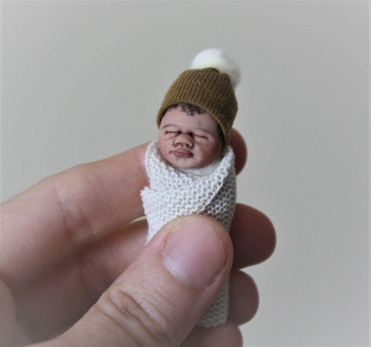 Image of #5.  OOAK Miniature Bundle Baby Boy