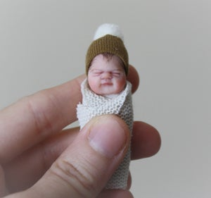 Image of #10.  OOAK Miniature Bundle Baby Boy