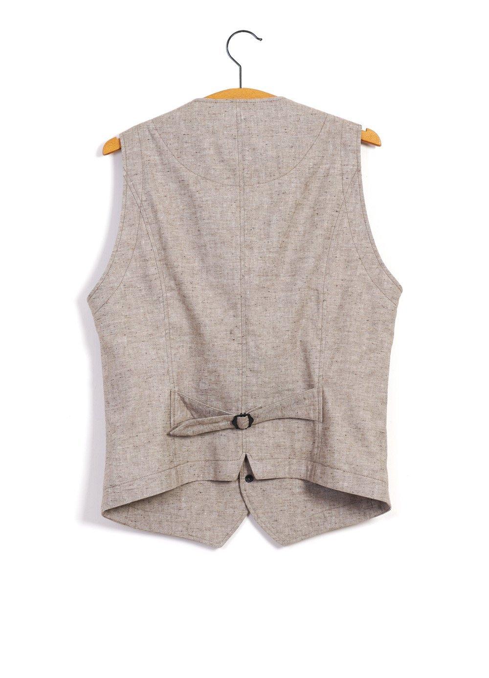 Hansen Garments HALFDAN | Classic Waistcoat | Beach