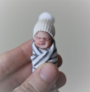 Image of #11.  OOAK Miniature Bundle Baby Boy