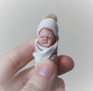 Image of #5. OOAK Miniature Bundle Baby Girl