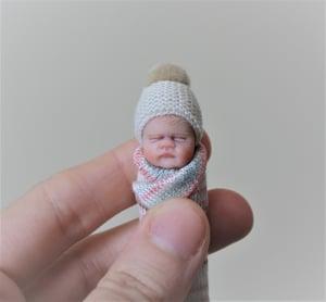 Image of #8. OOAK Miniature Bundle Baby Girl