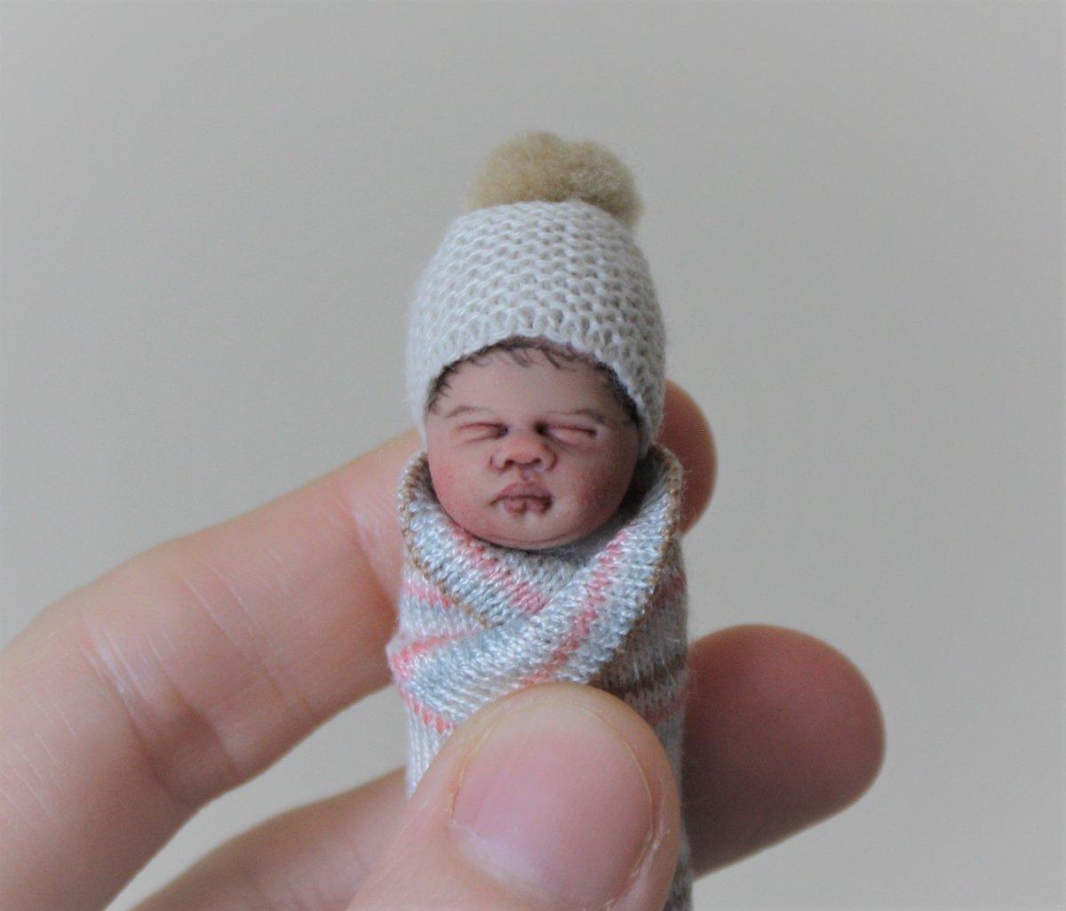 Image of #10. OOAK Miniature Bundle Baby Girl