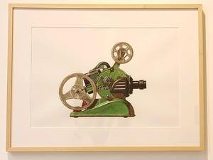 """Image of ALAIN BIET """"Projecteur Cinette"""" 2004-2021"""