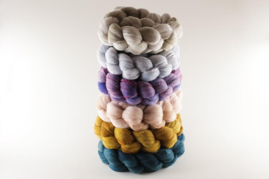 Image of Reverdie Coordinate Set � Superfine Merino + Mulberry Silk