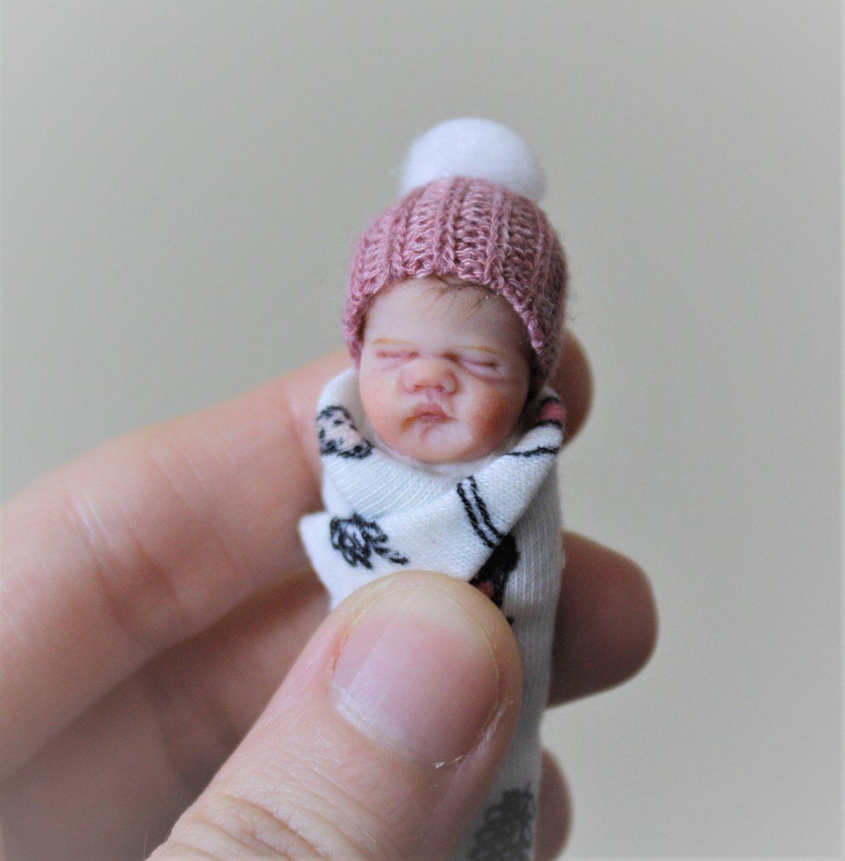 Image of #16. OOAK Miniature Bundle Baby Girl