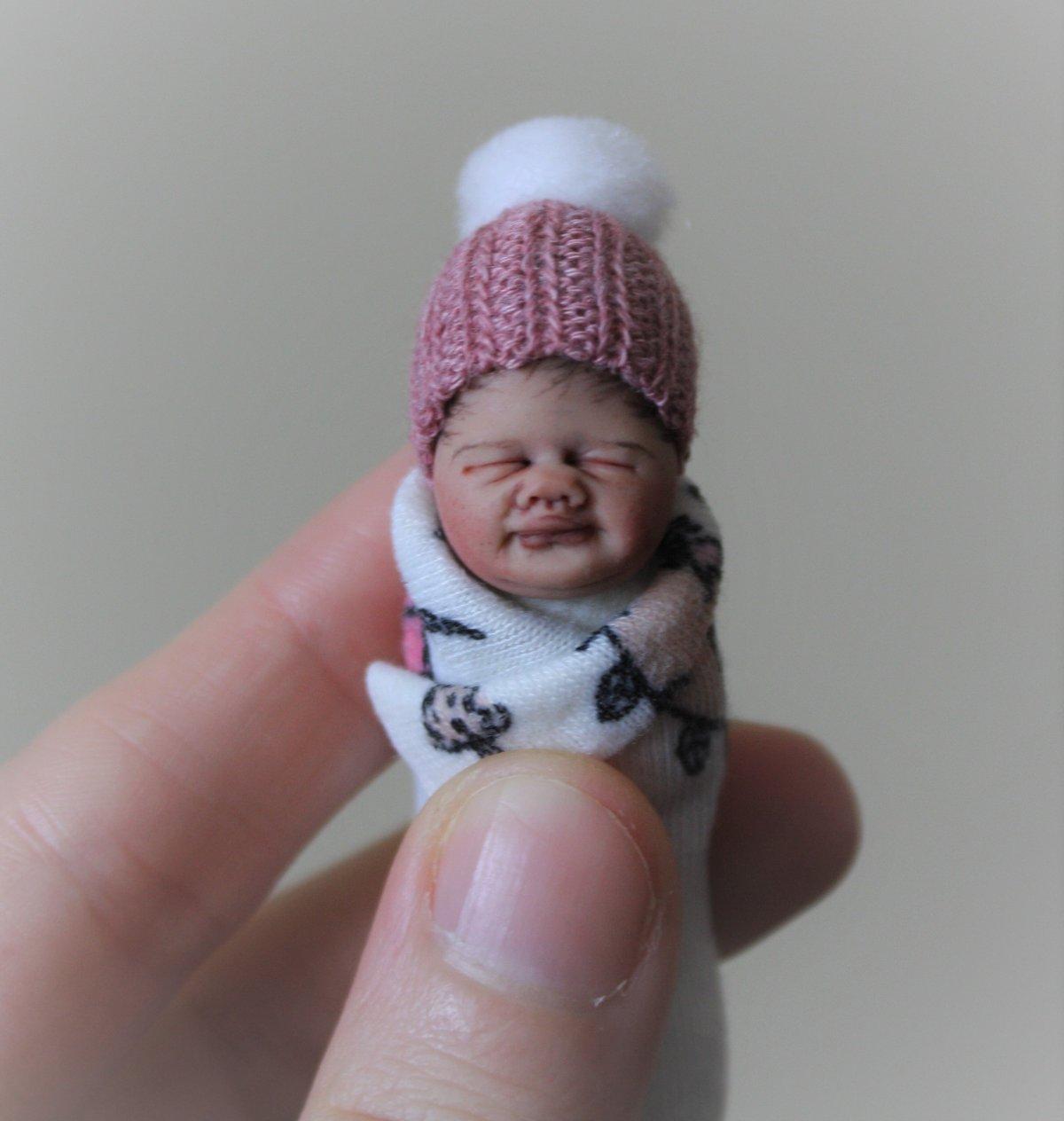 Image of #18. OOAK Miniature Bundle Baby Girl