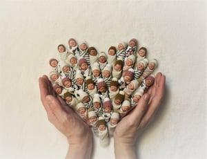 Image of #20. OOAK Miniature Bundle Baby Girl