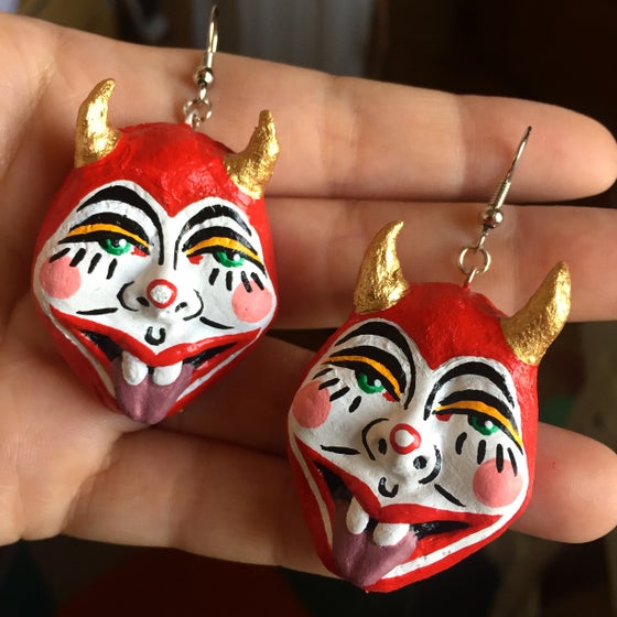 Image of Devil Earrings