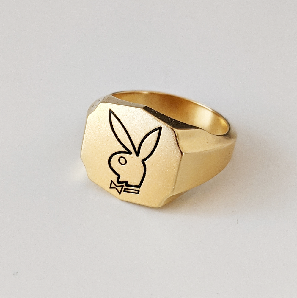 Image of Gold Bunny Ring
