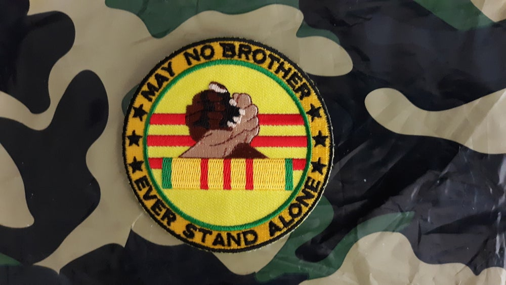 Image of Vietnam Veteran Patch May No Brother Stand Alone