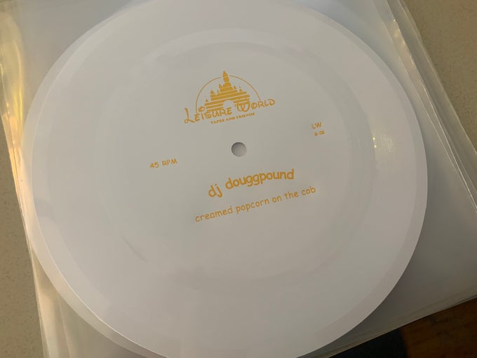 Image of Creamed Popcorn on the Cob Flexi Disc