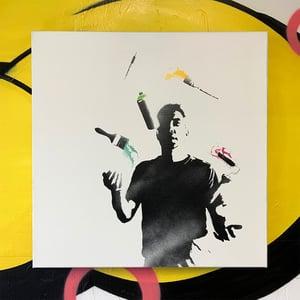 "Image of ""Artistic Balance"" No 1/5 (Daytime Edition) 50x50cm Deep Edge Canvas"