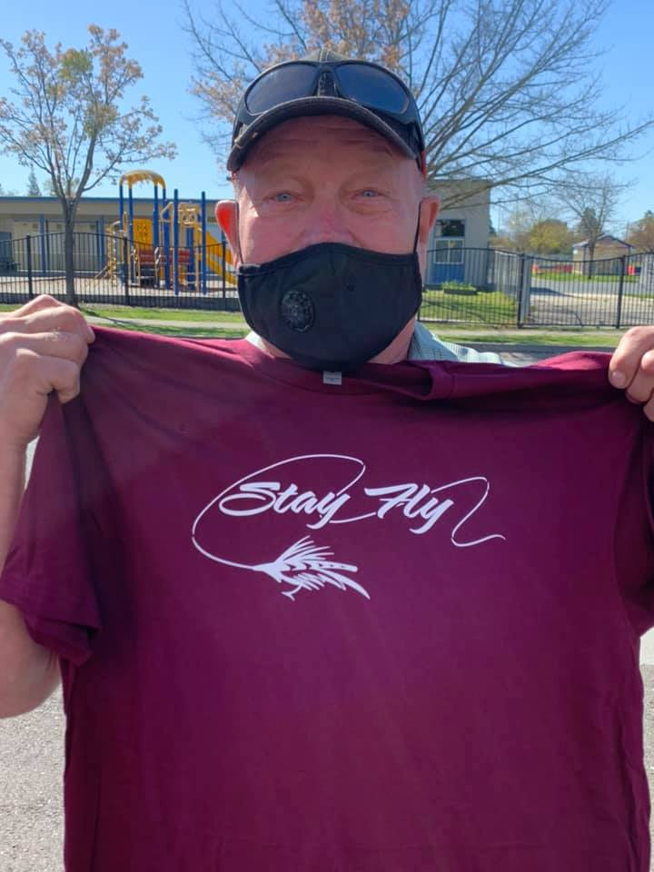 Image of Stay Fly Fishermen's tee
