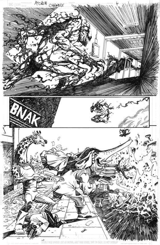 Image of Carnage: Black, White and Blood #1 page 4
