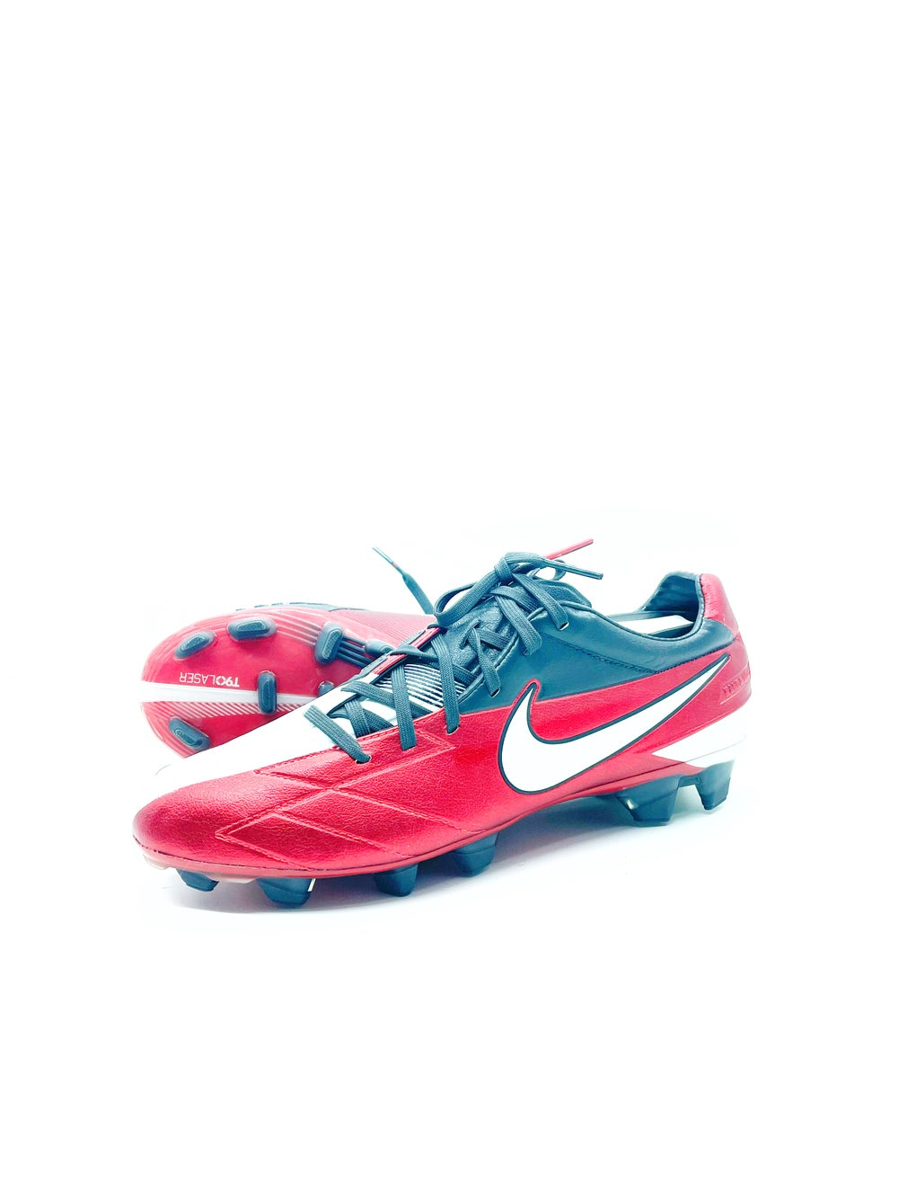 Image of Nike total 90 Laser III FG red